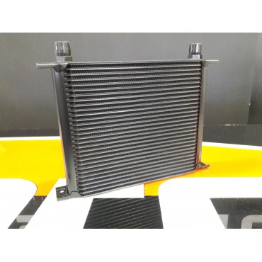 Oil cooler 25 row Black