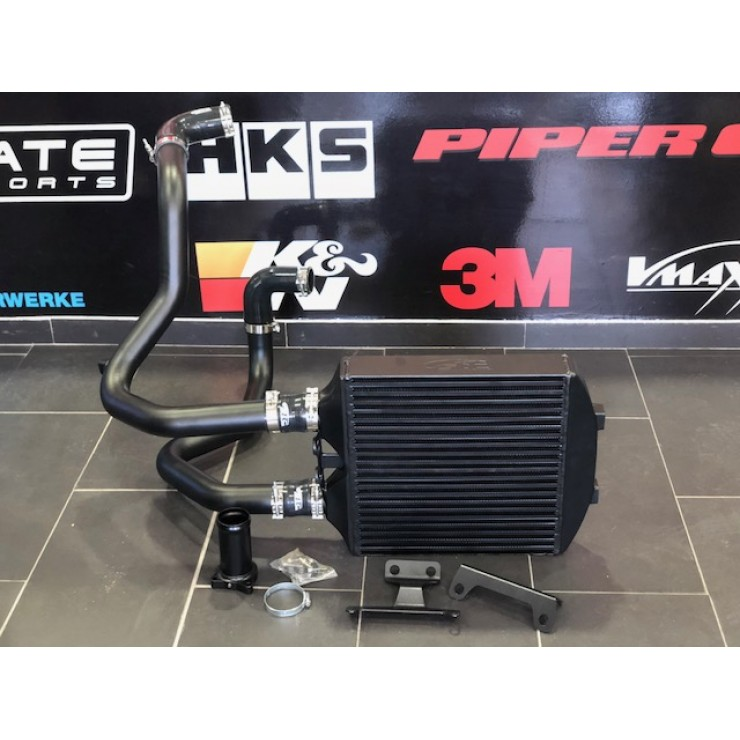 Kit Intercooler Cupra STC Performance com tubagens Pretas