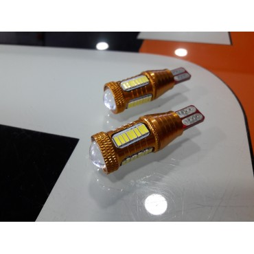 Pair of 12v LED's T15 CANBUS