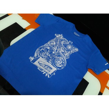 T-Shirt STC Royal Blue