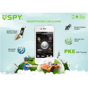 Spy GPS e GSM LC639 Alarm system IOS and Android