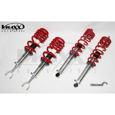 Coilover kit, V-Maxx Extreme Audi A4 B5 1.6/1.8/1.8T/1.9Di/1.9TDi excl. Quattro/height adj