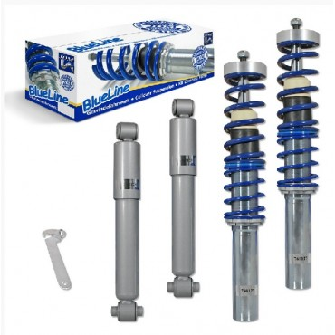 Kit Suspensão Coilover JOM  Peugeot 206 8.98- incl. Kombi 02-, thread / torsion bar Peugeot 206 8.98