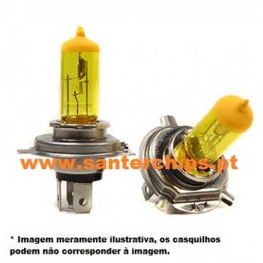 Halogen Yellow look Bulb pair H7