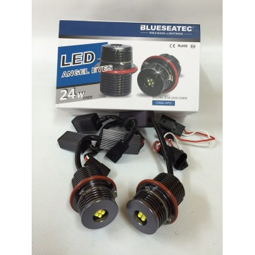Pair of 25W Leds BMW Angel Eyes E39/E60/E83/E63...