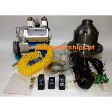 RD110 Kit Bloqueio (Air Locker) + Compressor + Kit Enchimento Pneus (MITSUBISHI e HYUNDAI) FRENTE