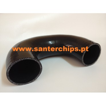 Curva 180º em Silicone 76mm STC Performance
