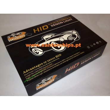 Santerchips GOLD HID Xenon kit H7 6000k 35w CANBUS